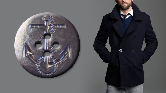 Mailbag: Anchor buttons on coats – Unrefinery com